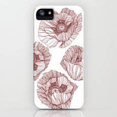 Poppies iPhone (5, 5s) Slim Case