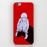 dexter iPhone & iPod Skins featuring Dexter by MRCRMB