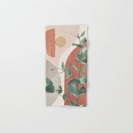 Nature Geometry IV Hand & Bath Towel