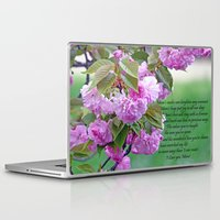 poem Laptop & iPad Skins featuring Mother's Day Poem  by Frankie Cat