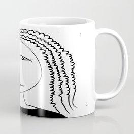 Girl with plait Coffee Mug