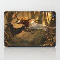 unicorns iPad Cases featuring Unicorns by ErikaStudio