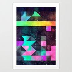 hyppy f'xn rysylyxxn Art Print
