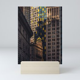 Urban Jungle - Skyscrapers in Financial District Lower Manhattan Mini Art Print