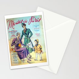 Modes de Paris 2 Stationery Cards