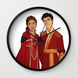 Lunar New Year Wall Clock