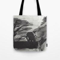 safari Tote Bags featuring Safari by SaphronSunshine