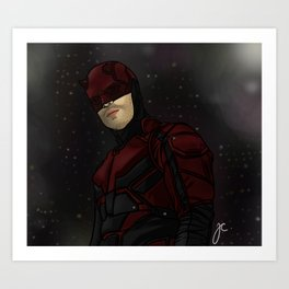 the devil of hell's kitchen Art Print