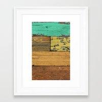 western Framed Art Prints featuring Lejano Western by Diego Tirigall