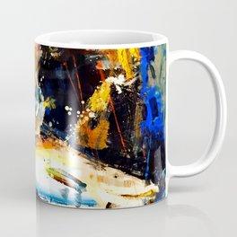 Gon' Fishin. brown. bear. fishing. wildlife. Coffee Mug