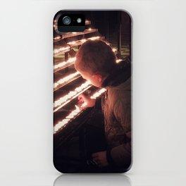 Prayer Boy iPhone Case