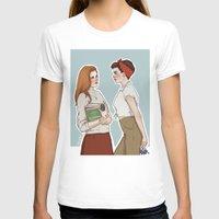 allison argent T-shirts featuring Allison Argent/Lydia Martin 50's AU by vulcains