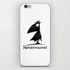 Nevermore! The Raven - Edgar Allen Poe iPhone & iPod Skin