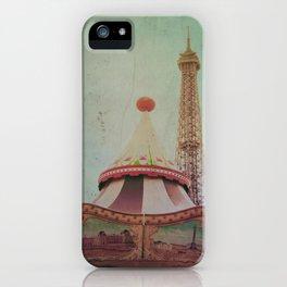 Bohemia of Paris iPhone Case