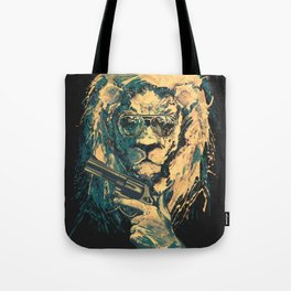 Lion is always Cool Tote Bag