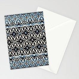 N5   Vintage Anthropologie Moroccan Indigo Artwork. Stationery Cards