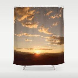 Kelowna Sunset Shower Curtain