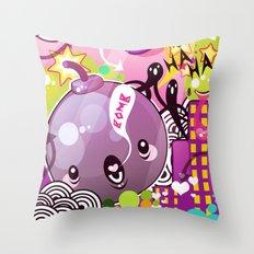 Bombs Throw Pillow