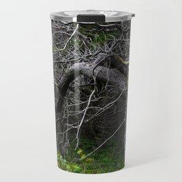 Forest Spirit Skull Travel Mug