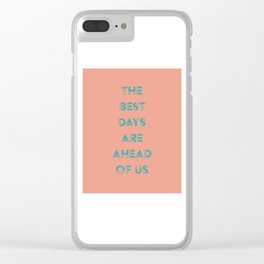 Ahead Clear iPhone Case