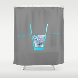 One For The Realists Shower Curtain