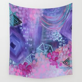 Dream in Purple Wall Tapestry
