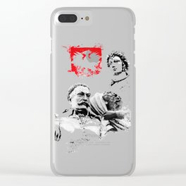 Polish King Jan III Sobieski & Marysienka Clear iPhone Case