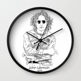 the Legendary drawing ink Wall Clock