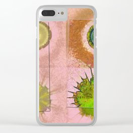 Tricksical Peeled Flowers  ID:16165-011113-25451 Clear iPhone Case