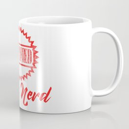 Certified Book Nerd Coffee Mug