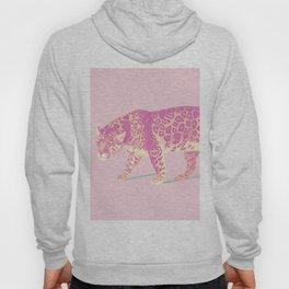 Pink Jaguar Painting Hoody