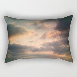 Dreamy Clouds Rectangular Pillow