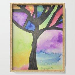 Tree of Faith Serving Tray