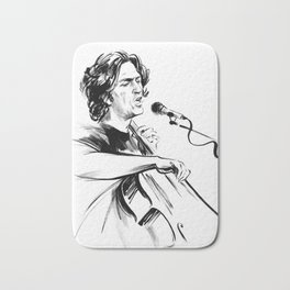 А man who sings and plays the cello Bath Mat