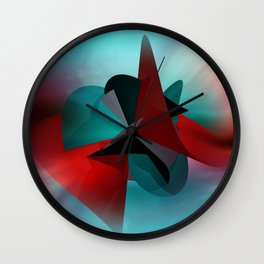 3 colors for a polynomail Wall Clock