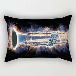 Fire trumpet in concert Rectangular Pillow