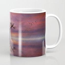 Lone Tree Sunrise Coffee Mug