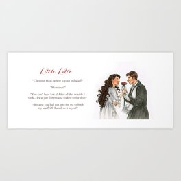 Raoul and Christine Art Print