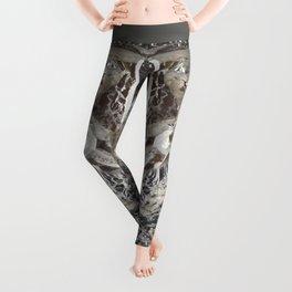 Silver Crystal First Leggings