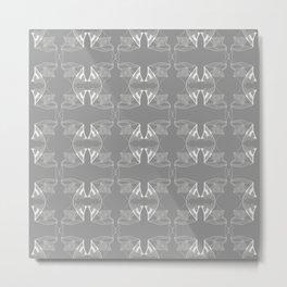 Lacework Metal Print