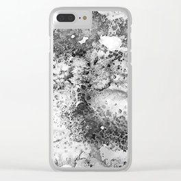 Whiplash Watercolor Clear iPhone Case