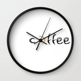 coffee... Wall Clock