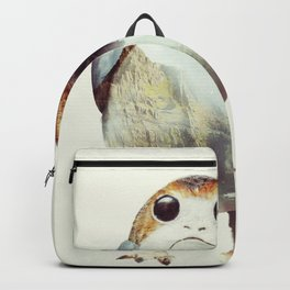 Porg on Ahch-To Backpack