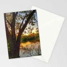October: Scene 3 Stationery Cards