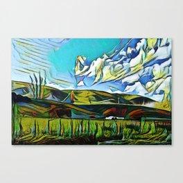 Hawkes Bay Hills Canvas Print
