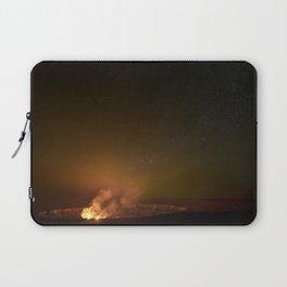 Halemaʻumaʻu Crater, Hawaii Volcanoes National Park Laptop Sleeve