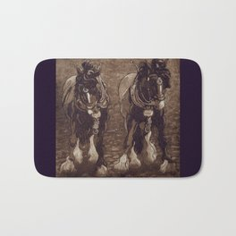 Shires / Horses Bath Mat