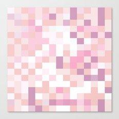Matisse Map Blush Canvas Print