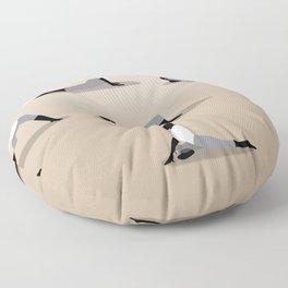 Yoga Poses Floor Pillow