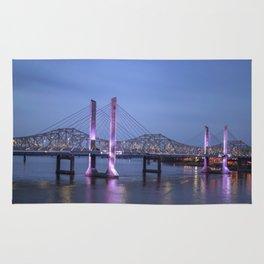 Lincoln Bridge Louisville, KY Rug